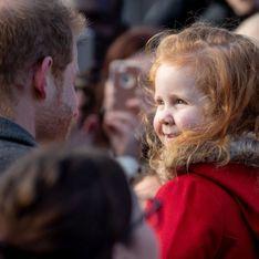 Le prince Harry a rencontré une petite fille rousse et sa réaction vaut le détour (vidéo)