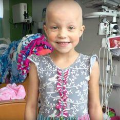 En rémission d'un cancer, cette fillette a réalisé son rêve et c'est touchant