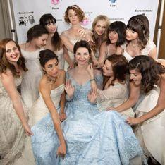 Pour son mariage, une actrice convie ses invitées à venir avec leur ancienne robe de mariée
