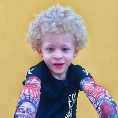 Grâce à Facebook, ce petit garçon albinos devient égérie Primark