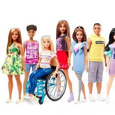Dorénavant, la poupée Barbie® est en fauteuil roulant et porte même une prothèse !