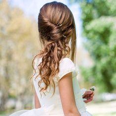 Kommunions-Frisuren mit Anleitung: Die gelingen ganz leicht
