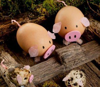 DIY : 20 oeufs de Pâques originaux à faire avec les enfants