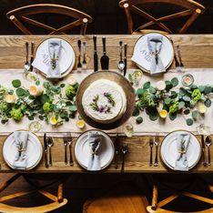 Come apparecchiare un tavolo primaverile
