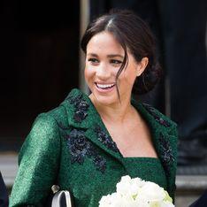 Meghan Markle, radieuse dans un total look vert qui sort de l'ordinaire