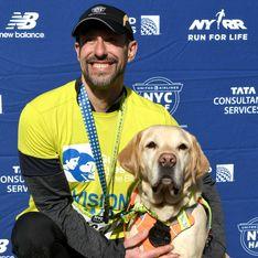 Il devient le premier aveugle à terminer le semi-marathon de New York