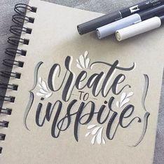 Todo lo que necesitas para aprender lettering de forma efectiva