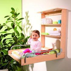 Pliable, escamotable ou multifonctions, ces tables à langer s'adaptent à tous vos besoins