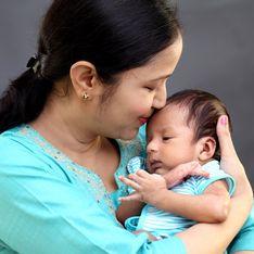 26 jours après avoir accouché, elle donne naissance à des jumeaux