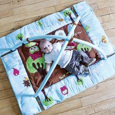 ¿Cuáles son las mejores alfombras de actividades para tu bebé?