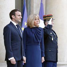 Brigitte Macron et Rania de Jordanie rivalisent d'élégance pour une rencontre à l'Elysée (photos)