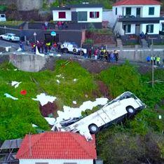 A Madère, l'accident d'un bus de touristes fait de nombreux morts