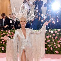 Céline Dion opte pour une tenue excentrique et impressionnante au Met Gala