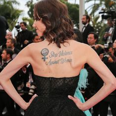 Sand Van Roy, l'actrice qui accuse Luc Besson de viol affiche un message fort à Cannes