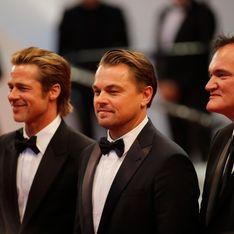 Leonardo Dicaprio et Brad Pitt aux côtés de Quentin Tarantino sur la Croisette