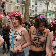2 militantes Femen condamnées pour exhibition sexuelle à Paris