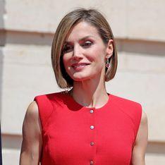 Sublime ! Letizia d'Espagne redouble d'élégance en total look rouge