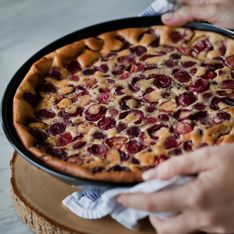 Clafoutis alle ciliegie express