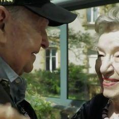 Émouvant ! Ce vétéran américain et cette Française se retrouvent 75 ans après la guerre