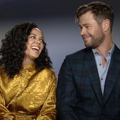 Chris Hemsworth et Tessa Thompson dévoilent les secrets de Men in Black: International