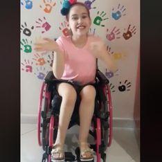 Elena, 9 anni, una sedia a rotelle e un appello forte per noi!