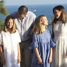 Rare apparition des princesses Leonor et Sofia d'Espagne aux côtés de leurs parents