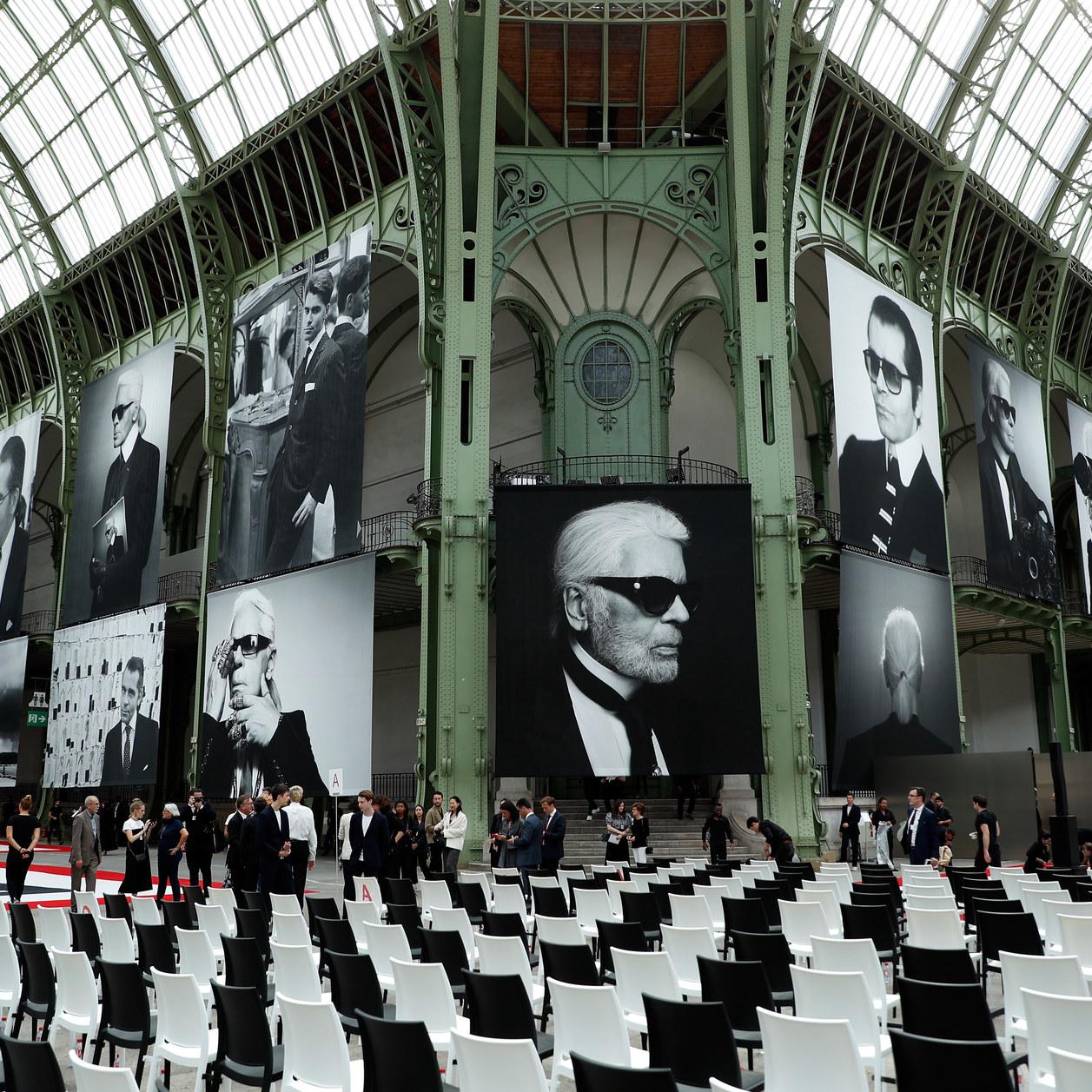 """Karl For Ever"" : le vibrant hommage à Lagerfeld au Grand Palais"