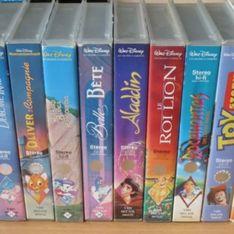 Vos vieilles cassettes Disney pourraient bien valoir une petite fortune