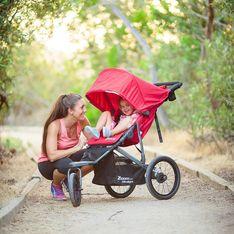 5 poussettes de running pour courir avec bébé
