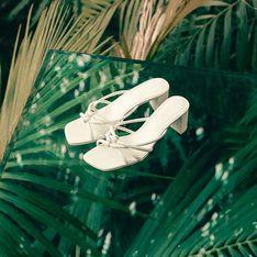 Sandalias de punta cuadrada, la tendencia que pisa fuerte este verano