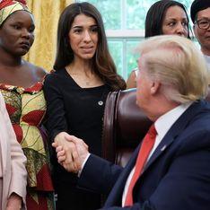 Trump reçoit Nadia Murad, prix Nobel de la paix, et ne sait pas qui elle est