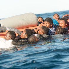 Plus d'une centaine de migrants portés disparus après un naufrage en Méditerranée