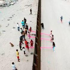 Des balançoires à la frontière américano-mexicaine pour rapprocher les enfants