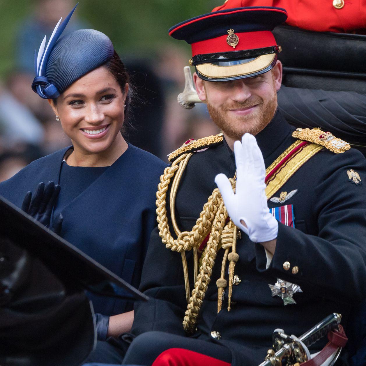 Harry et Meghan rendent hommage à Lady Di sur Instagram