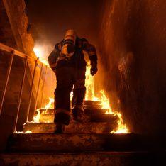 Incendie dans une usine à Rouen : la population est conseillée d'éviter le secteur