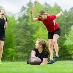 A 16 ans, cette jeune fille explique ce qui l'éclate dans le rugby