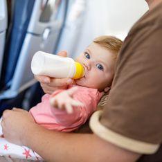 Une compagnie aérienne vous signale si un bébé va voyager à vos côtés