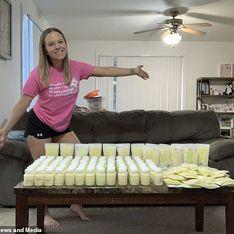 Après avoir perdu son enfant, cette maman donne 33 litres de lait maternel pour aider les bébés