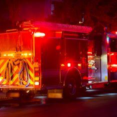 Un incendie impressionnant dans un entrepôt de Villeurbanne