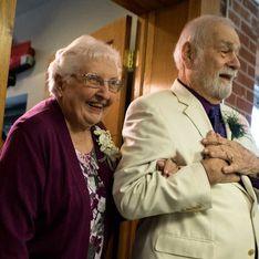 64 ans après avoir été amoureux au lycée, ils se retrouvent et se marient
