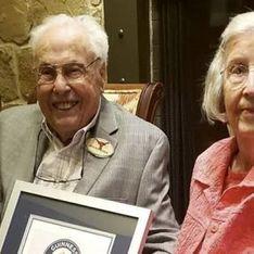 A 105 et 106 ans, ces tourtereaux forment le couple le plus vieux du monde et ils sont adorables