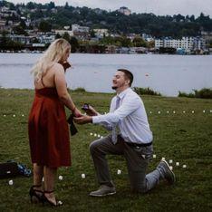 Il recrée une scène culte de Grey's Anatomy pour faire sa demande en mariage