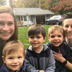 Deux mamans adoptent trois frères pour qu'ils ne soient pas séparés