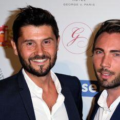 Christophe Beaugrand partage un tendre moment avec son fils