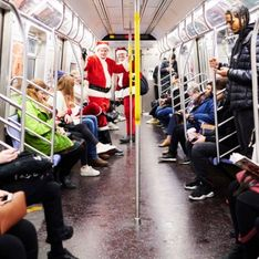 Les New-Yorkais chantent All I Want for Christmas is you dans le métro et nous réchauffent le cœur