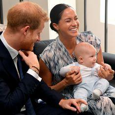 Dans les bras du prince Harry, le petit Archie fait fondre la Toile