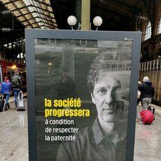 Des affiches anti-PMA et anti-IVG dans les gares parisiennes choquent la Toile
