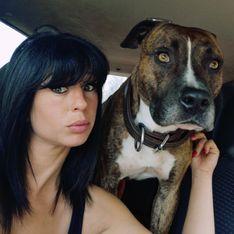Le compagnon D'Elisa Pilarski, prêt à tout pour sauver leur chien, Curtis, menacé d'euthanasie