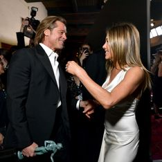Aux SAG Awards, la complicité entre Brad Pitt et Jennifer Aniston affole la Toile