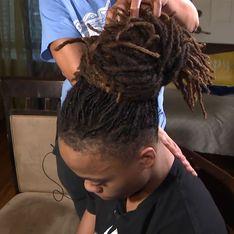 Exclu du lycée pour avoir porté des dreadlocks, un étudiant noir reçoit 20 000 dollars de bourse